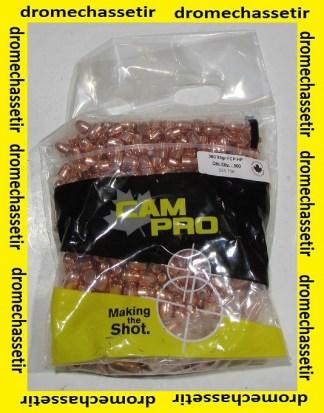 """sachet de 500 ogives Cam-pro, 9mm (0.355""""), 95 grains, Hollow point"""
