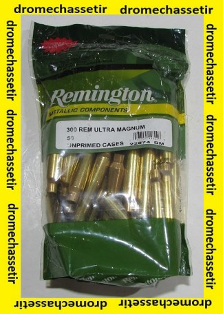 50 douilles Remington calibre 300 Remington Ultra Mag