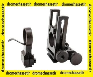 ensemble anneaux pour malcolm 6X middle et long range, diametre 19mm, M634MT