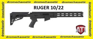 Kit crosse ATI pour ruger 10/22, avec garde main picatinny, AR-22