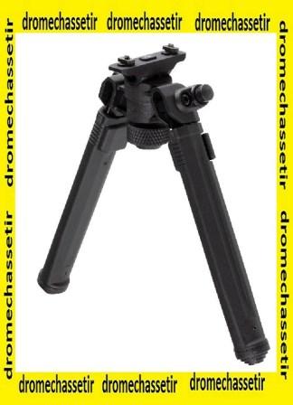 bipied Magpul a fixation M-lok, 16cm a 26cm de hauteur, noir, MPL-MAG933 blk