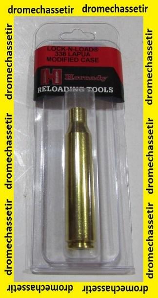Douille Hornady Modifiee pour Jauge OAL, cal 338 Lapua magnum , C338L