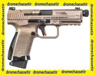 Pistolet canik TP-9 SF Elite combat canon fileté FDE