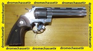 Revolver Colt Python calibre 357 magnum 6 pouces inox NEUF