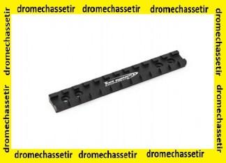rail picatinny pour carabine Browning Bar, avec vis , Toni systems, Noir