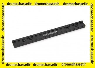 rail picatinny pour carabine Merkel SR1, SR2, 4 trous avec vis , Toni systems, Noir