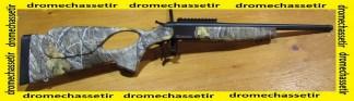 CARABINE KIPPLAUF BERGARA BA-13 222 Remington, CANON 51CM FILETÉE, CROSSE THUMBOLE CAMO