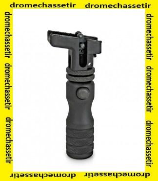 monopod Accu-shot haut, réglable, fixation sur grenadière BT05-QK
