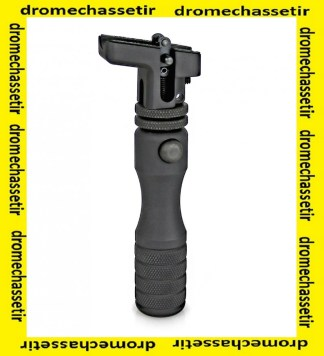 monopod Accu-shot extra haut, réglable, fixation sur grenadière BT06-QK