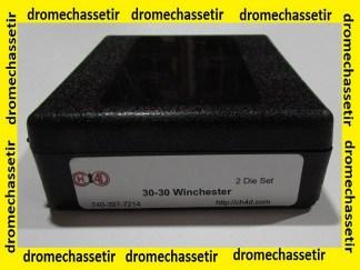 Jeu d'outils CH4D de rechargement en calibre 30-30 winchester