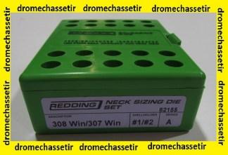 jeu d'outil de rechargement standard Redding, cal 308 winchester