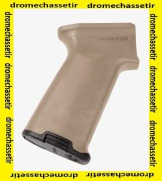 Poignée Pistolet Caoutchout Magpul, pour AK47 et AK 74, FDE