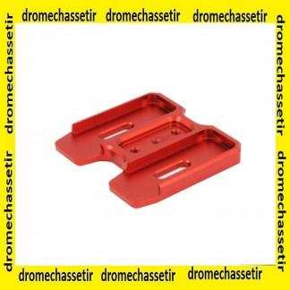 coupleur aluminium pour chargeur PMAG AR15 gen 3, rouge
