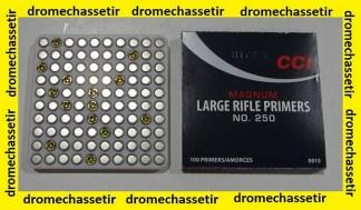boite de 1000 amorces Large Rifle Magnum de marque CCI 250