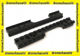 rail picatinny acier RUSAN pour carabine Anschütz 54 et 64 20moa