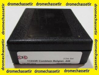Jeu d'outils CH4D de rechargement en calibre 11x53R Comblain Belgian