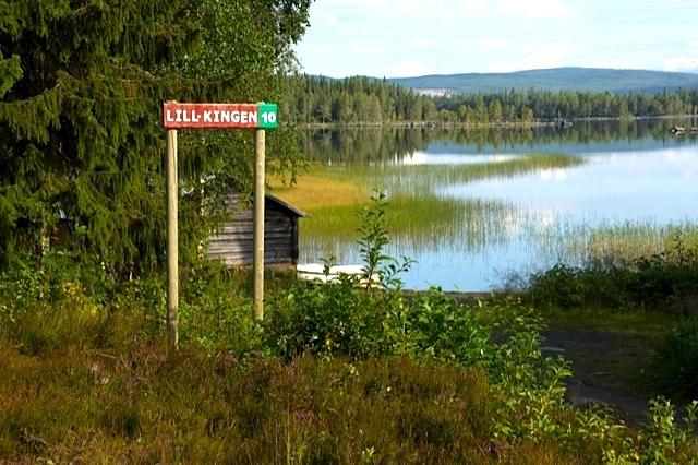 Fiskeskylt hos Rörvattnet-Skogsjö fvo. Foto J Omalley