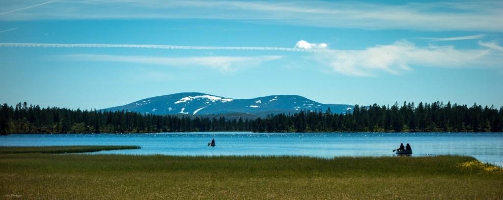 Tännäs Käringsjön. Foto Tännäs Fiskecentrum