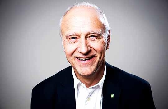 Gunnar Heibring, ordförande i Drömfiske Jämtland Härjedalen