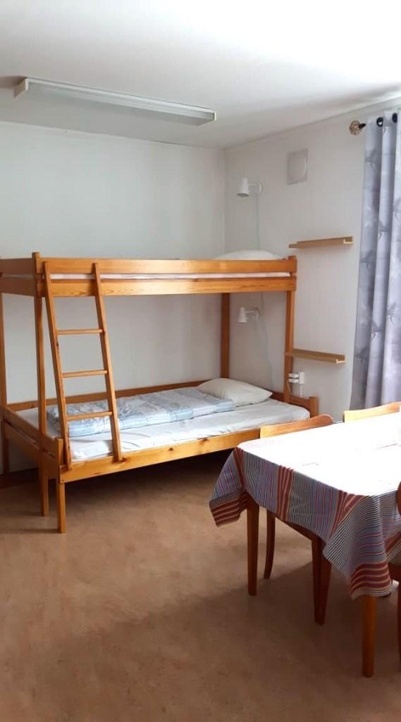 Sovrum 4 bäddar, Kullagården. Foto Margit Hallgren