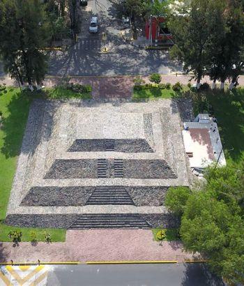 Pirámide del Sol en Zapopan