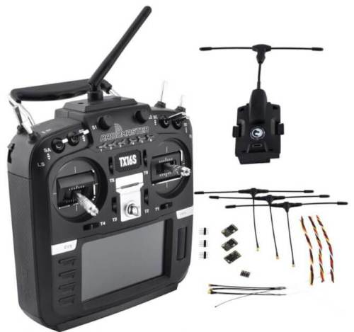 RadioMaster TX16S with TBS Crossfire Micro TX V2