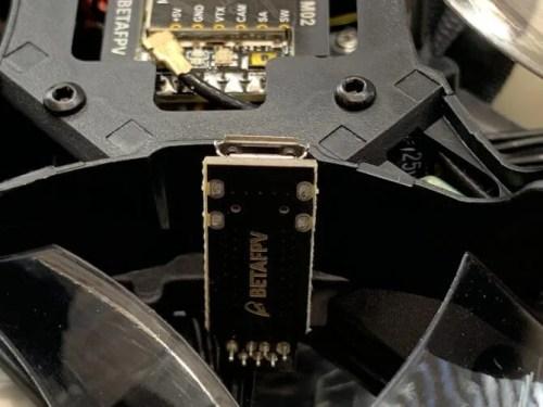 USBアダプター装着
