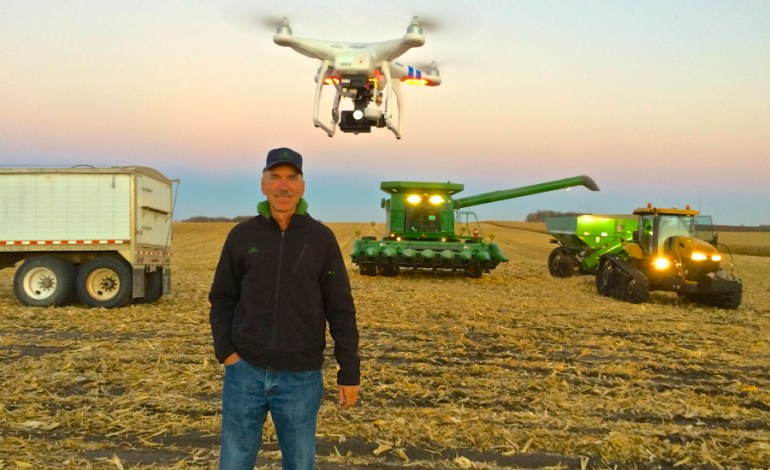 Agriculture Drone Use