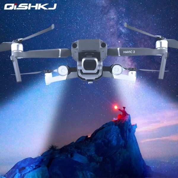 drone-zoom Night Flight LED Lighting Kit for DJI Mavic 2 Pro/Zoom Direction Navigation Spot Light Headlight Drone