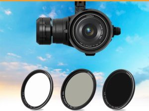 drone-zoom - Camera Lens Filter for Zenmuse X5 Kit ND8 ND16 ND64 CPL UV for DJI Inspire 2 Zenmuse X5S X5R Drone Camera Filter