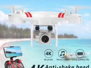 drone-zoom - 2019 New Drone 4k camera HD Wifi transmission fpv drone air pressure fixed height four-axis aircraft rc helicopter with camera