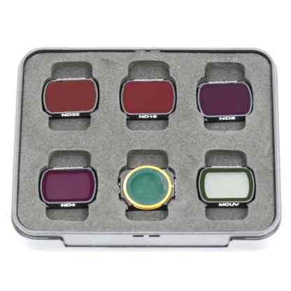 Filter Set for DJI Mavic Air 2 ND ND4 ND8 ND16 ND32 CPL MCUV Pictured in the case they come with
