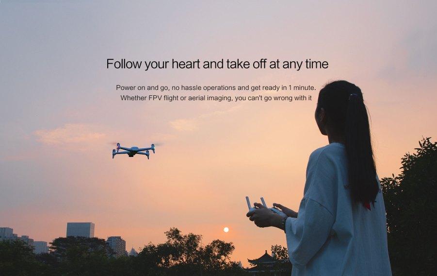 Xiaomi FIMI A3 Drone flight features 2