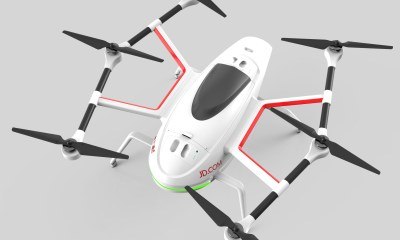 JDrones can fly up to 100 kph and deliver packages weighing up to 30 kg — with others being tested to carry as much as 200 kg.