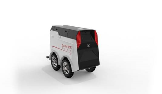 JDrover for last-mile deliveries on campuses