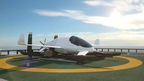 Aurora's eVTOL aircraft