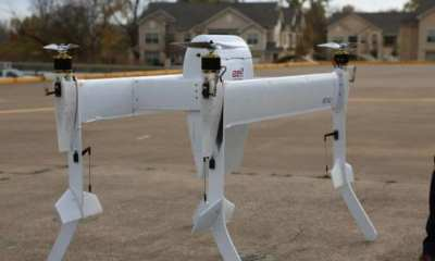 Bell Helicopter Delivery Drone