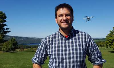 Mike Dziok, Microdrones Marketing Manager