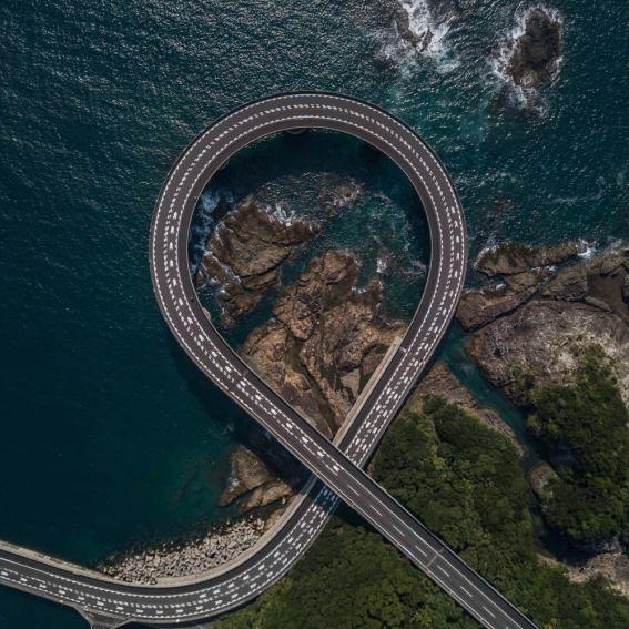 Ribbon Bridge Japan