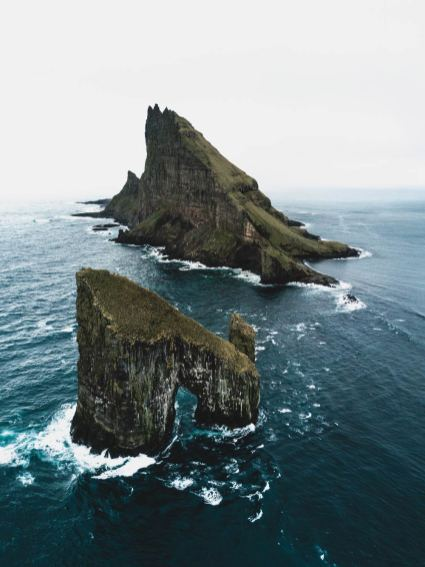 Tindholmur Faroe Islands