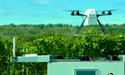 ScoutTM, the world's first fully-automated drone system for farmers.