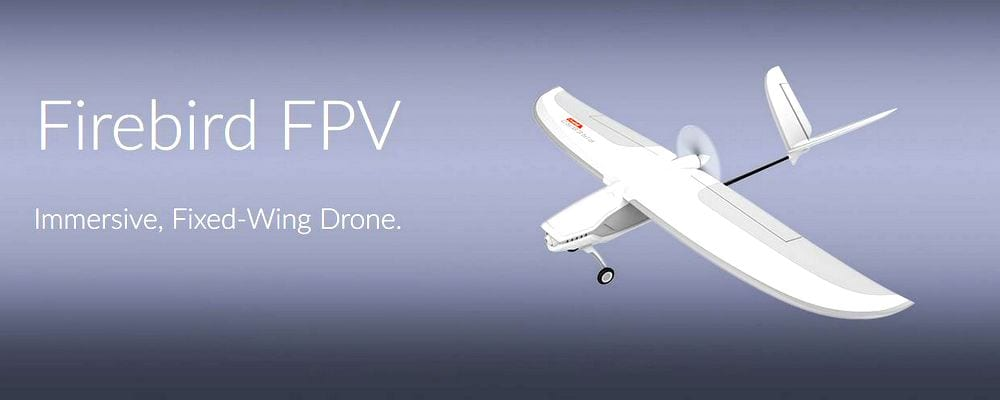 Firebird FPV Immersive, Fixed-Wing Drone