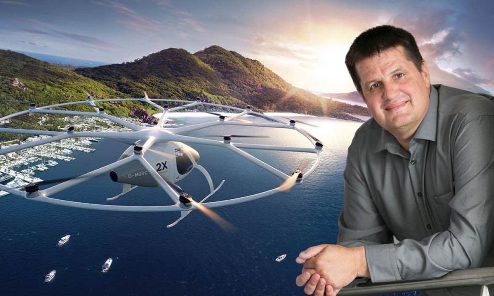 Alex Zosel, Cofounder Volocopter