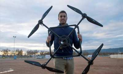 Jesus Garcia Uses Drones to Dismantle Nuclear Power Plants
