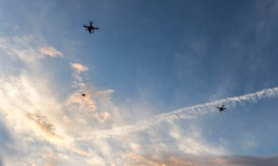 Pyeongchang Drones Catching Drones