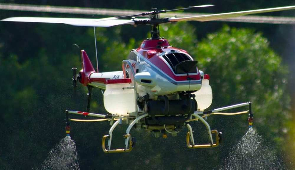 Yamaha R-Max Unmanned Helicopter