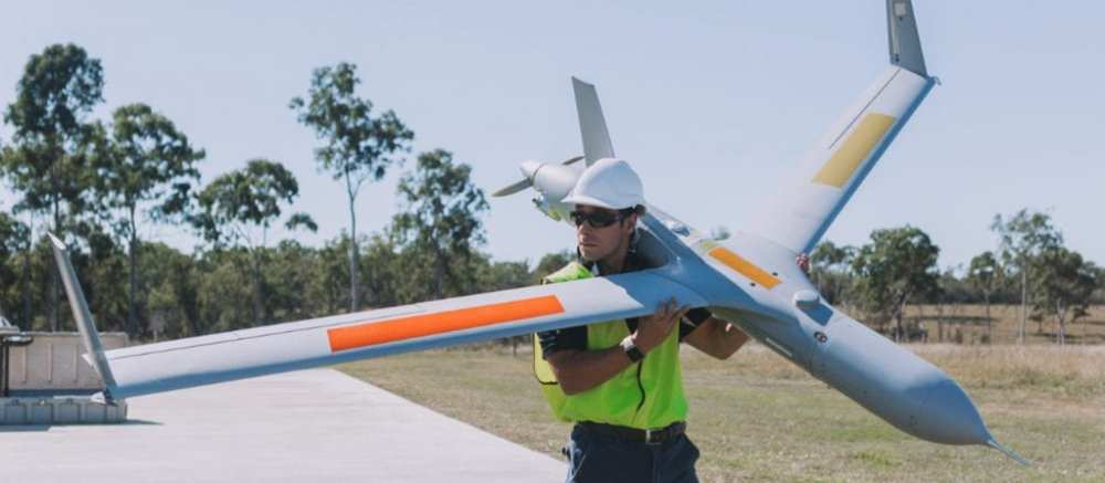 A UAV developed by Boeing to inspect gas projects in Queensland
