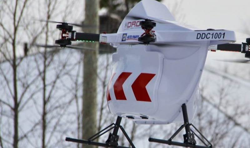 Drone Delivery Canada BVLOS test flights