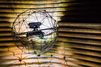 Flyability Elios Boiler Picture 5 - © SITM Plzně - Tušimice