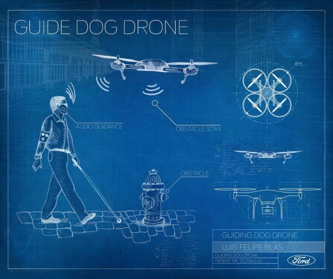 Guide Dog Drone